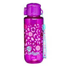 Image for Wild Straight Bottle from Smiggle UK Water Bottle Online, Best Water Bottle, Aunt Jackies Hair Products, Toothbrush Storage, Cute School Bags, Hello Kitty Toys, Cute Halloween Makeup, Stainless Steel Lunch Box, Unicorn Fashion
