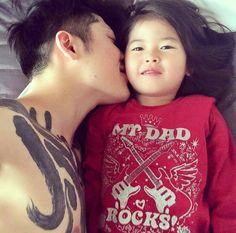 miyavi and daughter