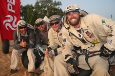Steve Gurney, Craig Hansen - extreme adventurers proving 2C Solar technology