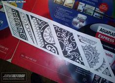 Foto diseño Brazaletes, Maoríes