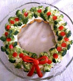 ghirlanda-di-verdure-antipasti-natale/vegetable garland