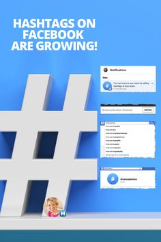 Facebook recently started pushing the use of hashtags in posts, literally in a notification stating that by adding hashtags, you can improve your reach. Finally! The Facebook Hashtag 2020 Definitive Guide: What Marketers Need To Know Jump to each section with the links below, or just read 'n' scroll!  #facebook #facebookmarketing #socialmedianews #socialmediahashtags #socialmedia Facebook Marketing Strategy, Online Marketing Strategies, Social Media Marketing, Using Facebook For Business, How To Use Facebook, Digital Marketing Trends, Social Media Site, Hashtags, Posts