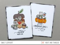 """{Neat & Tangled} """"Nuts About You"""" Limited Edition STAMPtember Set"""
