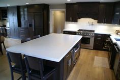 Kitchen Concrete Countertop | Concrete Countertops Design Gallery - BEAUTIFUL countertops ... and made from cement!