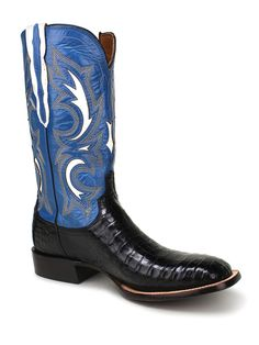 Mens Lucchese Black Caiman Belly Boots M2680 - Texas Boot Company is located in Bastrop, Texas. www.texasbootcompany.com