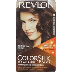 Revlon Colorsilk Hair Color Medium Golden Chesnut Brown This Is Pretty Much My Natural