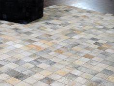 Teppe/ rutemønster av kuskinn Decor, Tile Floor, Contemporary, Home Decor, Rugs, Flooring, Contemporary Rug