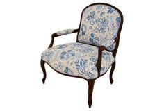 Armchair w/ Matching Pillow