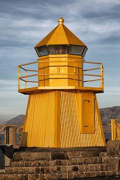 Reykjavík Ingólfsgarði Lighthouse, Reykjavík, Iceland