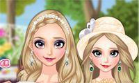 Modern Frozen Sisters - Juega a juegos en línea gratis en Juegos.com
