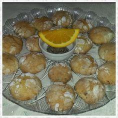 Biscotti all'arancia e cioccolato fondente