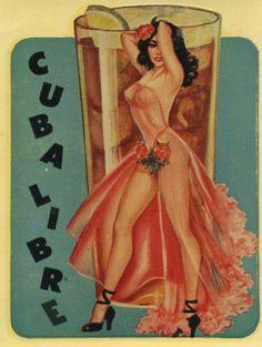 """vintagegal: """" 1950s decal """""""