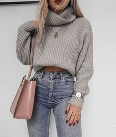 60 Trendy And Fashionable Fall Outfits You Should Try This Year - Page 18 of 60 - Chic Hostess Casual Winter Outfits for Women, Trendy outfits, Casual Outfits # .Casual Winter Outfits for Women, Winter Outfits 2019, Winter Outfits Women, Winter Fashion Outfits, Look Fashion, Fall Fashion, Fashion Trends, Winter Outfits Tumblr, High Fashion, Fashion Ideas