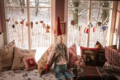 Christmas Decoration Window