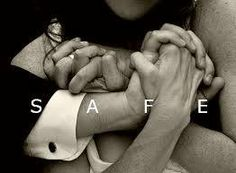 I always feel safe in HIS arms :)