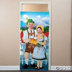 A fun addition to Oktoberfest party supplies, this photo door banner provides a great spot for #partypics! From Oktoberfest to the fall carnival, this instant ...