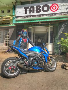 Suzuki GSX S1000 tuning by TabooShop