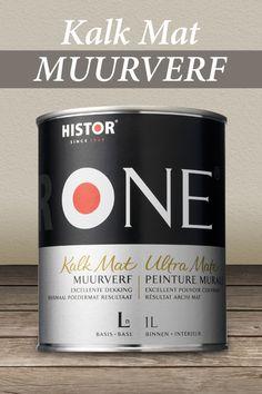 HistorONE Muurverf Kalkmat | Een maximaal poedermat resultaat.