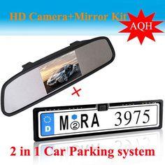 4.3 Inch TFT LCD Color Display Screen Car Camera Car Rear View Camera with Monitor + Night Vision Reversing Reverse Camera