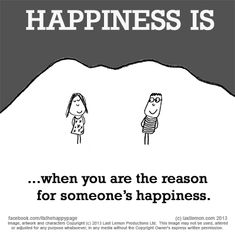 No. 1428 What makes YOU happy? Let us know at www.lastlemon.com and we'll illustrate it.