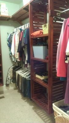 Allen Roth Closet. See More. Vented Tower And Vented Shelves On Top