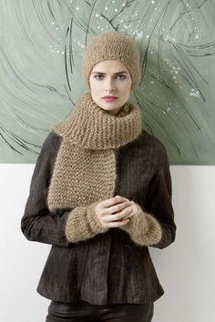 Breipatroon Muts, sjaal en polswarmers