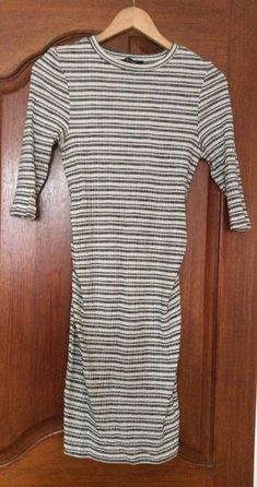 03cb862893 New Look Maternity Dress Size 10 Striped.
