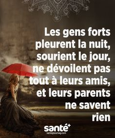 Alors je suis une personne forte Plus Plus - Lady Lily - Tout Pin - Alles French Quotes, Bad Mood, Positive Attitude, Positive Quotes, Some Words, Things To Know, Sentences, Decir No, Quotations