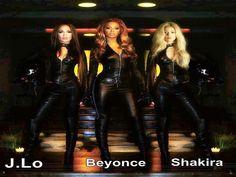 Beyonce and Shakira Sexy | Jennifer Lopez , Beyonce & Shakira - Shakira Wallpaper (33994052 ...