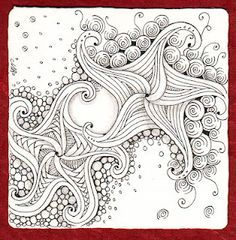 zentangle by the sea - Google zoeken