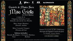 Concierto de Música Sacra, Misa Criolla de Ariel Ramírez, a cargo de la Orquesta Sinfónica y Coro Infantil y Juvenil de Los Mochis.