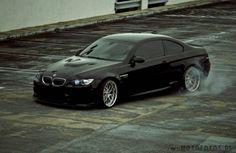 BMW E90 Coupe - czarny piękne