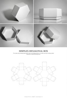 6 Sided Box Template  Picture