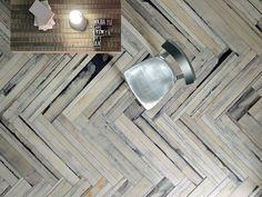 Pavimento in gres porcellanato effetto legno Collezione Urban_Wood by Ceramica Fioranese