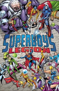 This is the cover to the second issue of Superboy's Legion, which was originally…