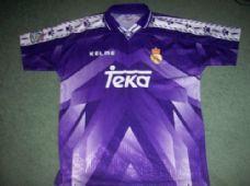 Real Madrid 1996 1997 Away Football Shirt Adults XL Camiseta Spain