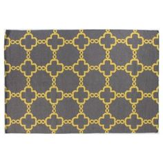Check out this item at One Kings Lane! Lorn Rug, Gray