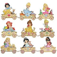 Precious Moments Disney Princess Train Collection... I bought this for Samma up to age 5. I'm psyched to see 6 to 9!