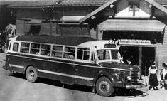昭和30年頃のバス