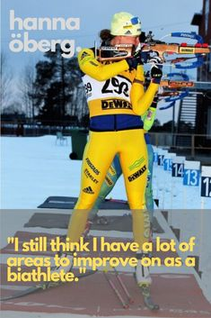 Hanna Öberg Biathlon gold medallist reveals the rigours of summer training Skiing Quotes, Ski Jumping, Olympic Champion, Summer Quotes, Cross Country Skiing, Winter Tops, Boyfriend Quotes, Sports Activities, Winter Olympics