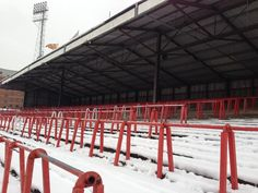 Racecourse Ground: Oldest international match venue (Guinness Record)! Red Walls, Guinness, Wales, Terrace, Old Things, British, Club, History, Balcony