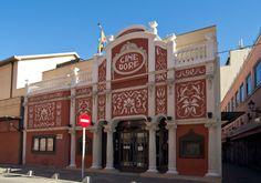 Madrid, calle Atocha, Cine Doré, Filmoteca Nacional. G Erostarbe