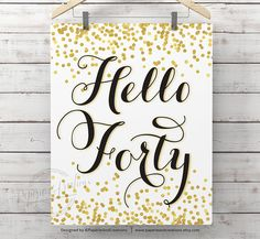 Hello Thirty Sign - Birthday Poster - Hello Thirty Poster - Cheers to 30 year - Wall Art Print 90th Birthday, Birthday Parties, 60th Birthday Sayings, 60th Birthday Ideas For Mom Party, Fortieth Birthday, Birthday Cheers, Fifty Birthday, Birthday Celebrations, Happy Birthday