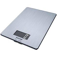 Buy Salter Stainless Steel Digital Kitchen Scale, 5kg Online at johnlewis.com