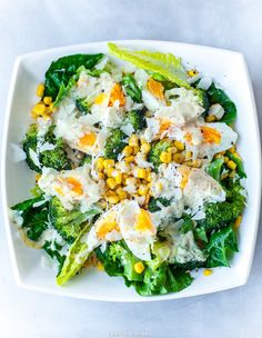 Hobby: Damskie pasje i hobby. Odkryj i pokaż innym Twoje hobby. Healthy Salads, Healthy Eating, Caesar Sauce, Pasta Lunch, Vegan Recipes, Cooking Recipes, Tasty Dishes, I Love Food, Clean Eating