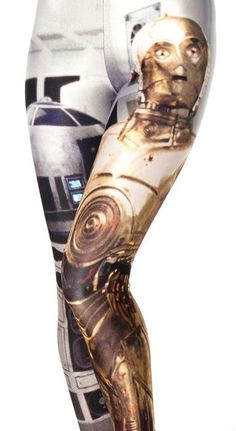 R2D2 and C3PO leggings at blackmilkclothing.com                                        I like this one a long as the proper body wares it.        your artist...  Mary A.