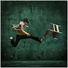 Shake Kick Motion by Widyantara Photography