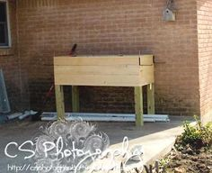 planter box....this website has free plans to build your own wood projects!