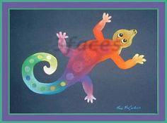 Geckos are fun at 3facesgallery.com  Copyright - repin but please do not reproduce.