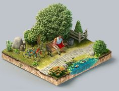 Puzzle on Behance